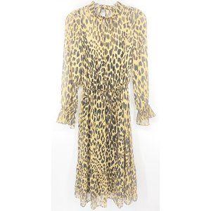 Banana Republic Chiffon Tiered Maxi Dress Sz 4